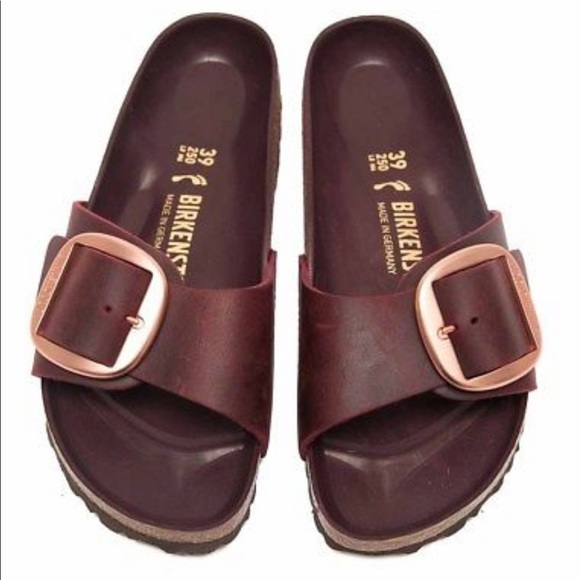 f846e2a83e3 Birkenstock Shoes - Birkenstock Big Buckle Madrid in Zinfandel